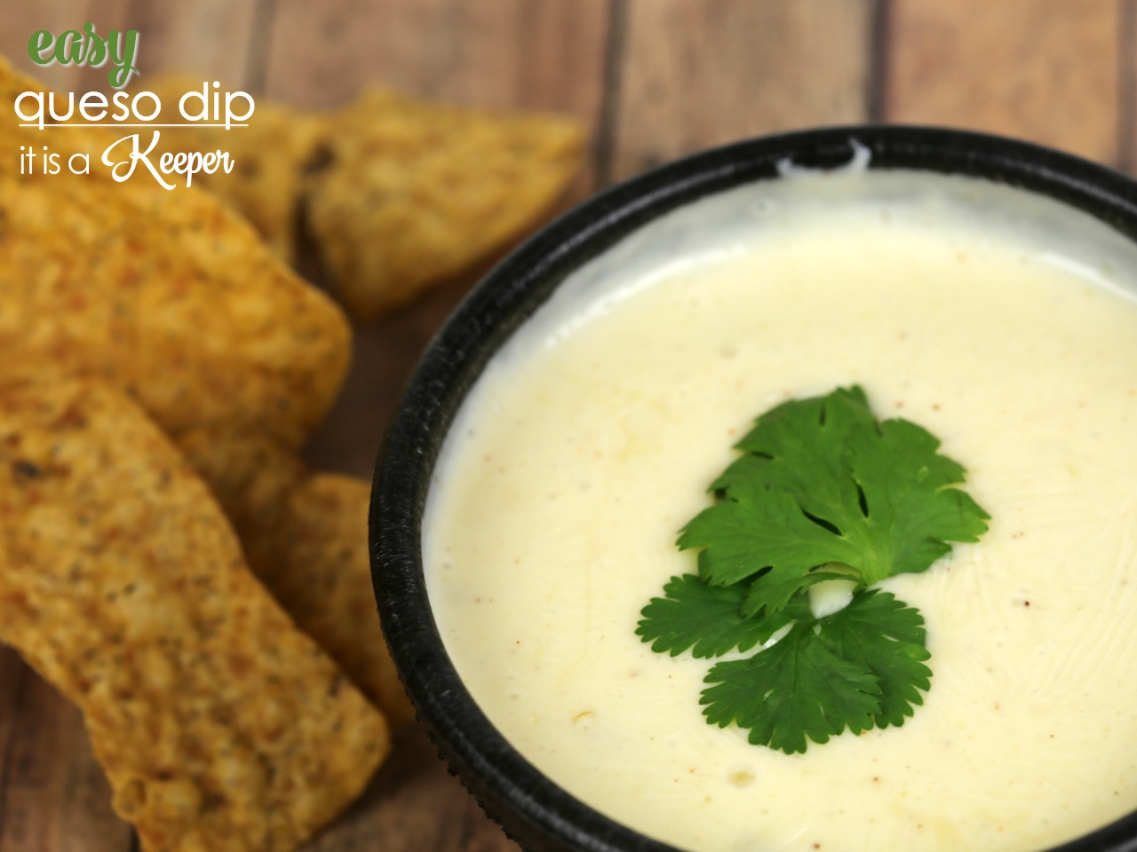 Easy Queso Dip - This restaurant style dip is easy to make and super creamy