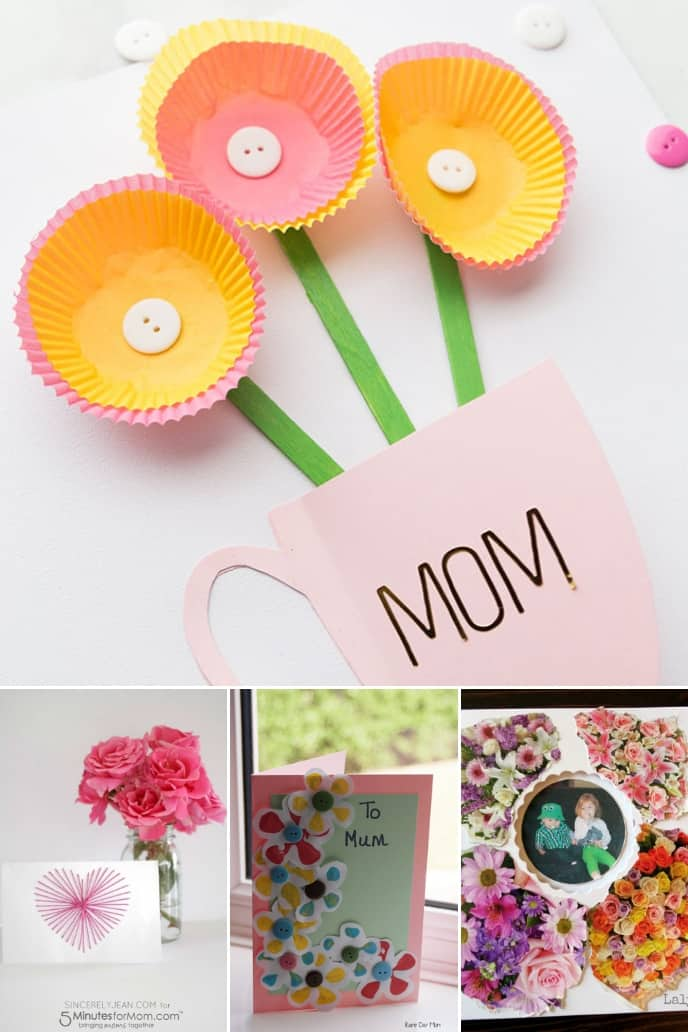 Homemade Mothers Day Cards