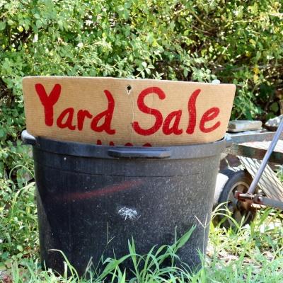 Yard / Garage Sale Secrets