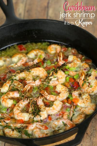Caribbean Jerk Shrimp
