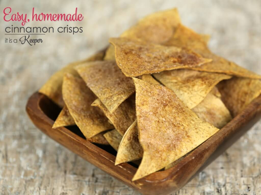 Cinnamon Crisps Recipes - These easy, homemade are ready in under 15 minutes. They are a great easy snack recipe