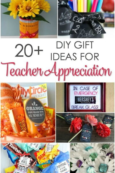 20 DIY Teacher Appreciation Gifts