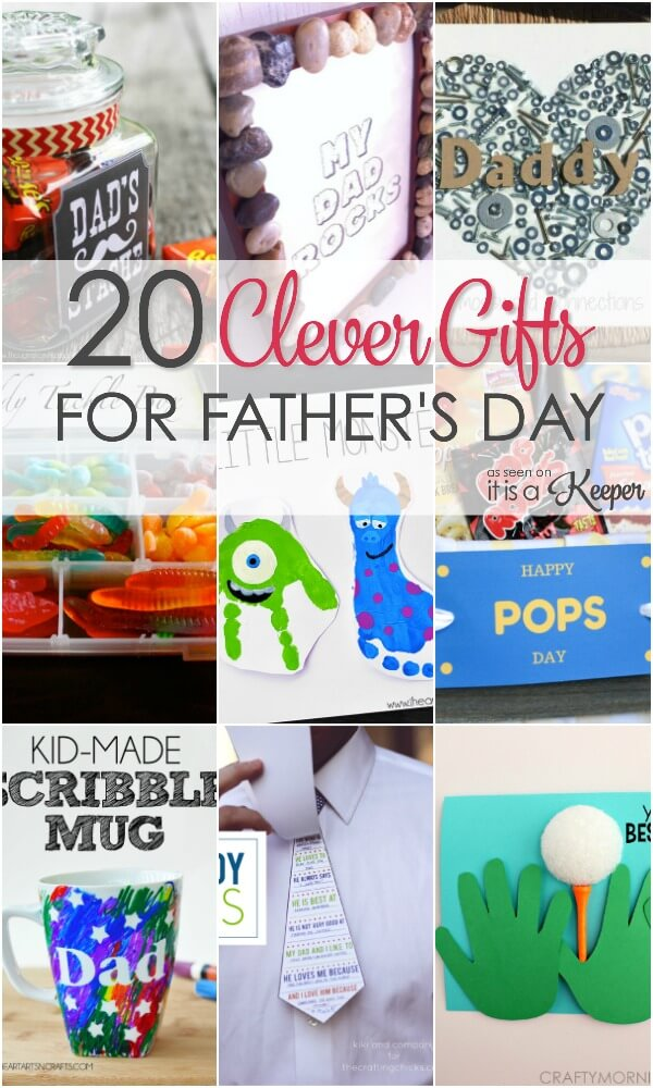 Show dad how much you love him with these clever Fatheru0027s Day gift ideas  sc 1 st  It Is a Keeper & 20 Clever Fatheru0027s Day Gift Ideas | It Is a Keeper