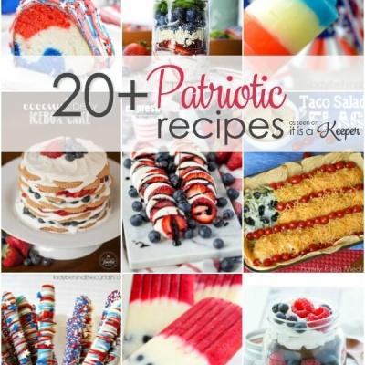 20+ Patriotic Recipes