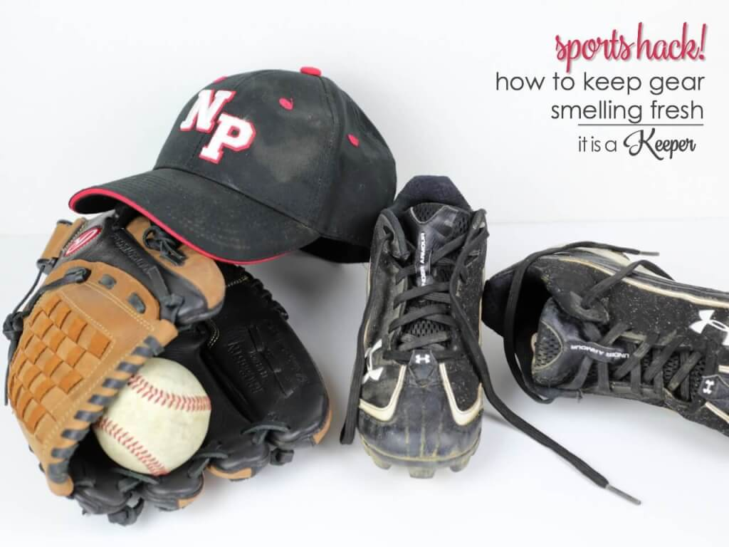 Sports Hacks - how to keep sports equipment and gear smelling fresh
