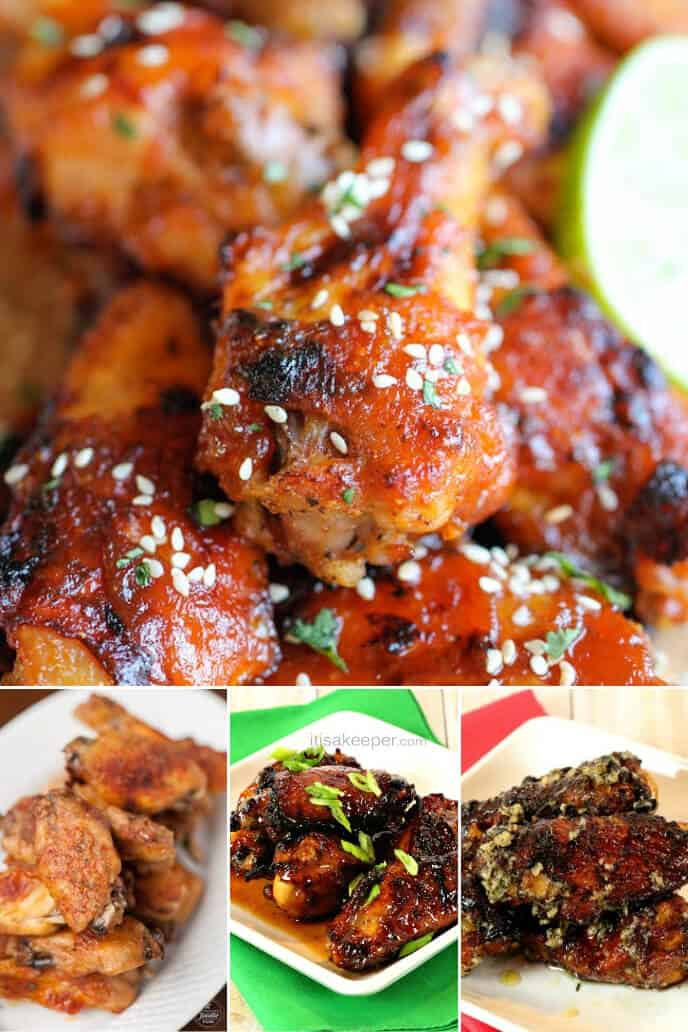 Collection of Easy Chicken Wing Recipes