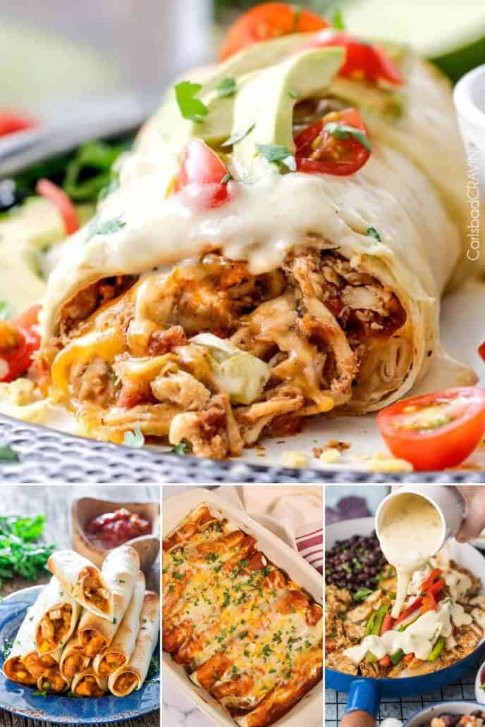 Collection of Mexican Dishes