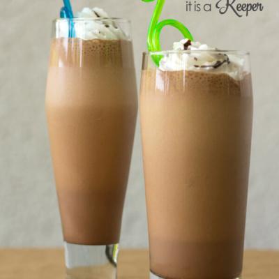 Mocha Milkshake