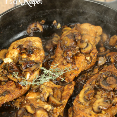 Skillet Balsamic Chicken