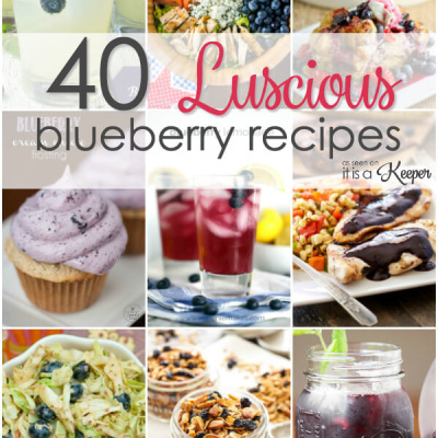 40 Luscious Blueberry Recipes
