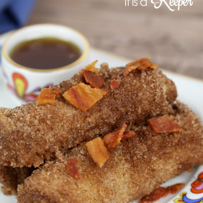 Maple Bacon French Toast Rolls