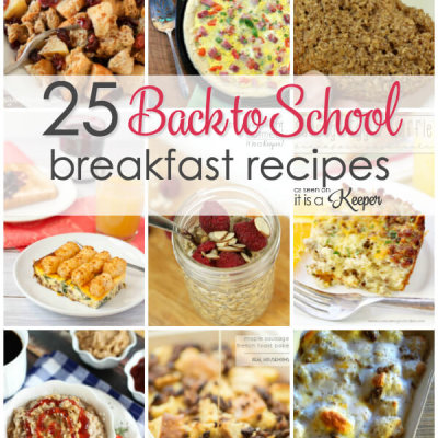 25 Easy Back to School Breakfasts