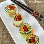 Ham and Veggie Sushi Rolls