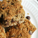 Whole Wheat Chocolate Chip Bars