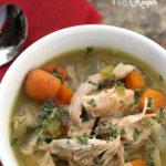 15 Minute Turkey Soup