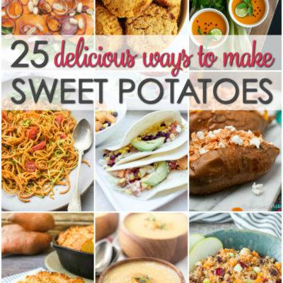 25 Sweet Potato Recipes