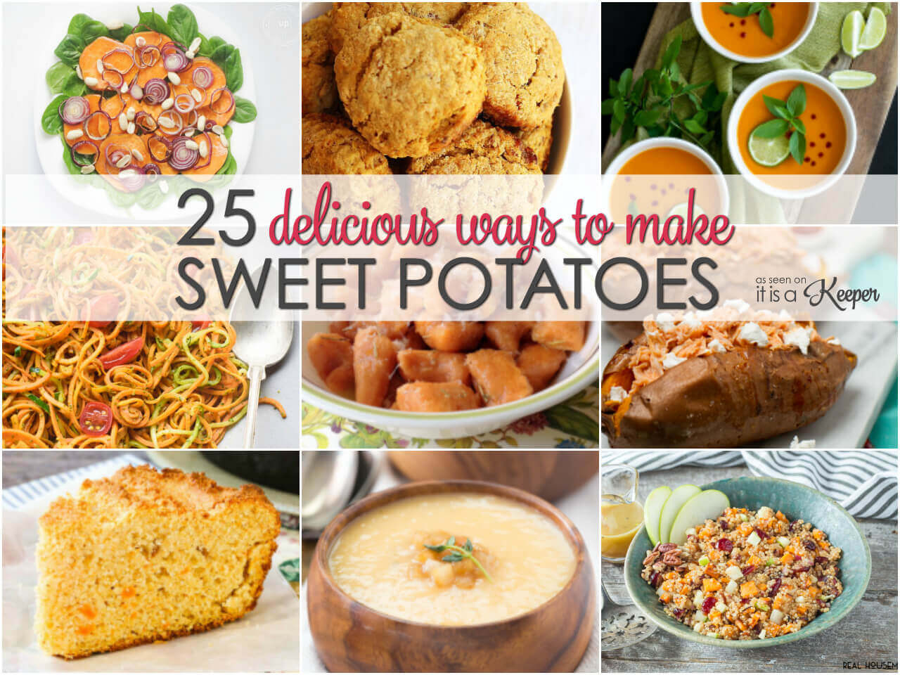 25 delicious ways to make sweet potatoes