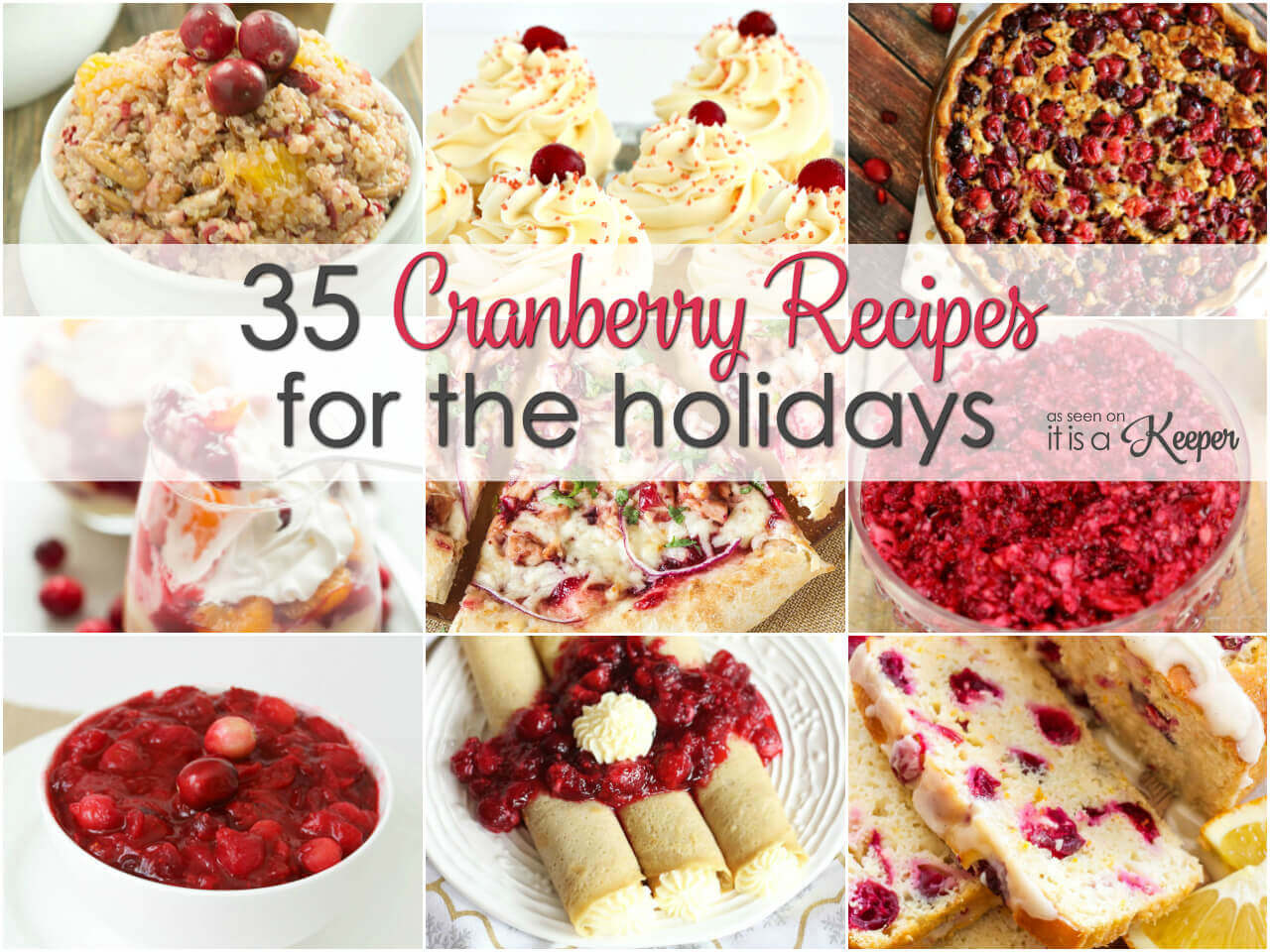 35 Cranberry recipes for the holidays