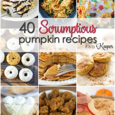 40 Scrumptious Pumpkin Recipes