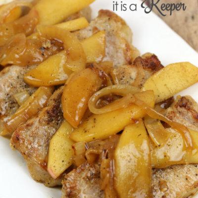Drunken Apple Pork Chops