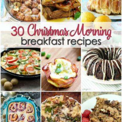 30 Christmas Morning Breakfast Recipes