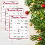 Christmas Movie Bingo Printable