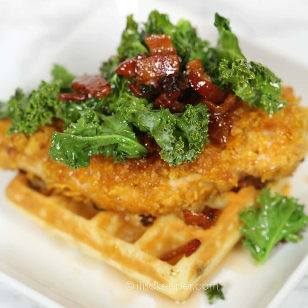 Secrets to Successful Meal Planning - Chicken and Waffles