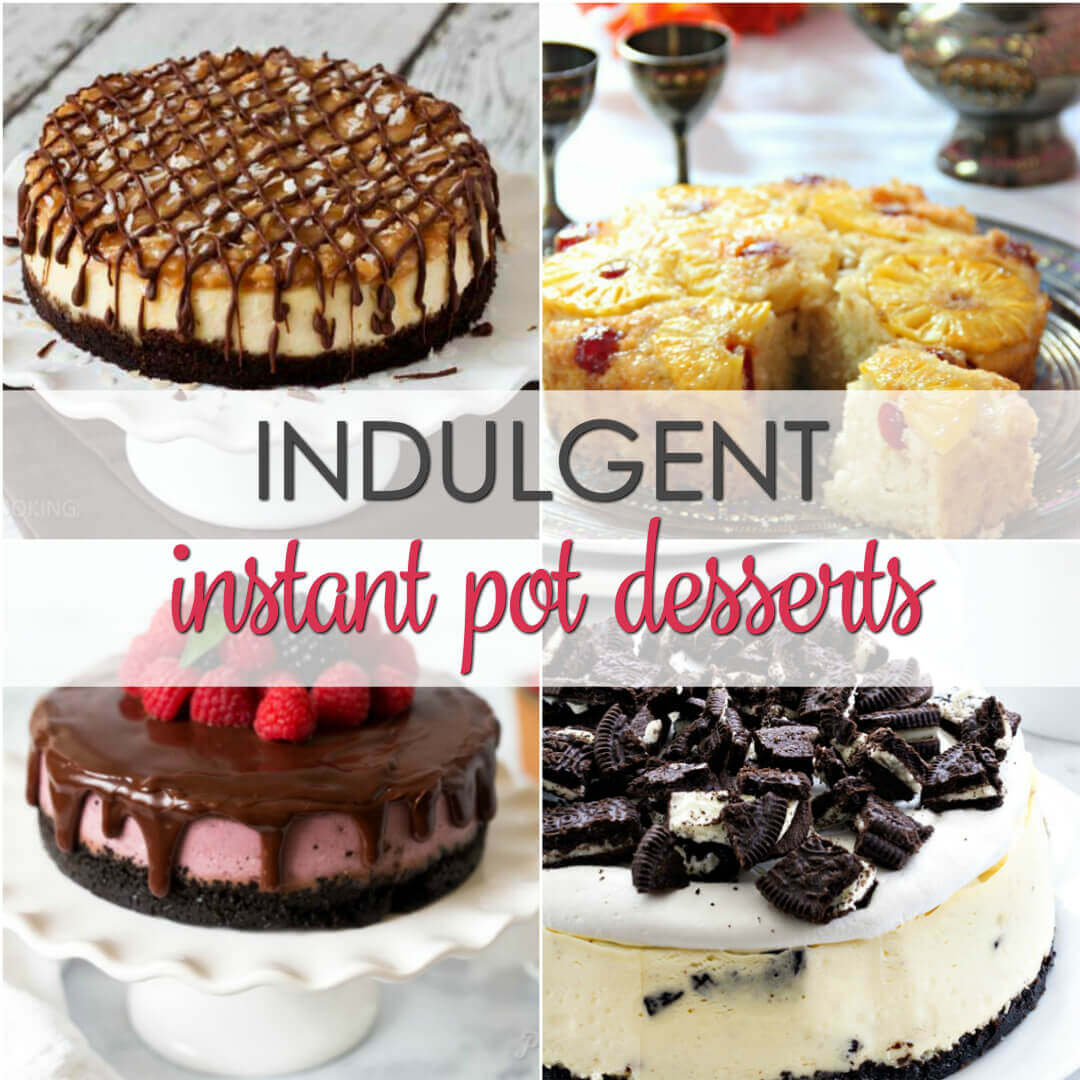 dessert recipes for instant pot