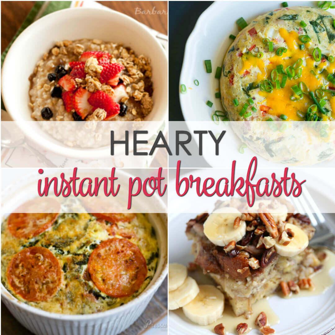 instant pot breakfast ideas
