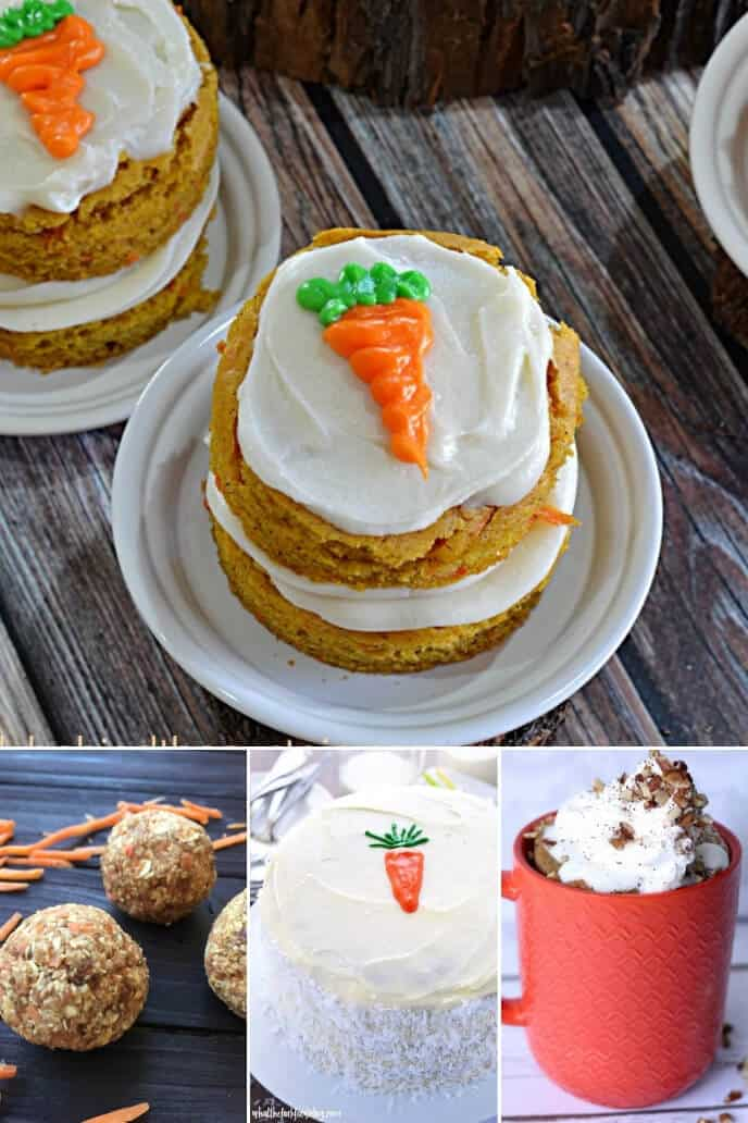 A collection of moist carrot cake recipes