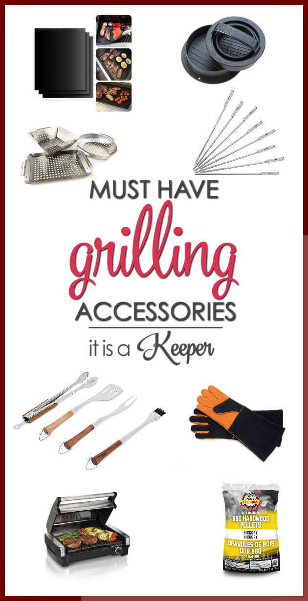 Must Have Grilling Accessories - these accessories make grilling easy and delicious