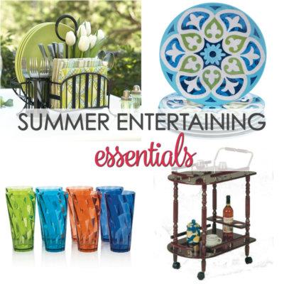 10 Summer Entertaining Essentials