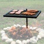 CAMPING BBQ SWIVEL GRILL