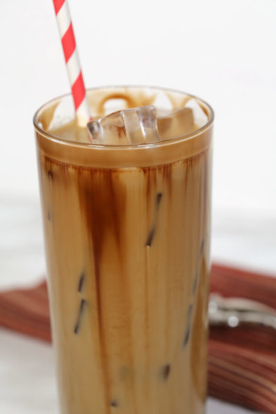 Chocolate Salted Caramel Iced Coffee