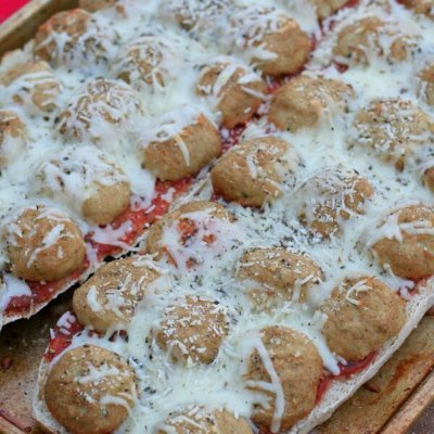 Meatball French Bread Pizza