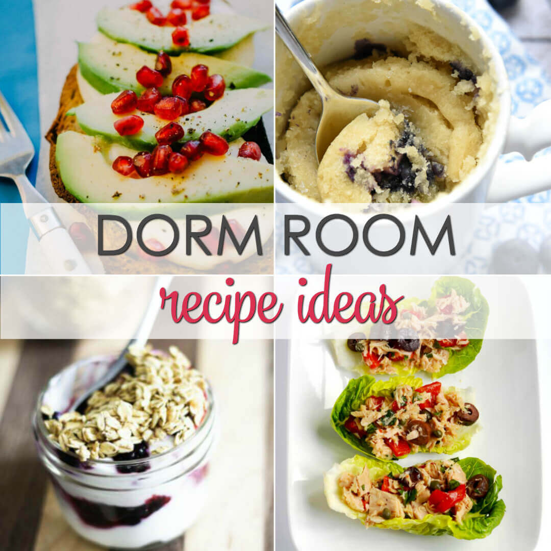Here are15 Easy Dorm Room Recipesthat anyone can make and are sure to keep you satisfied.