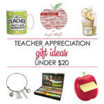 Teacher Gifts Ideas Under $20