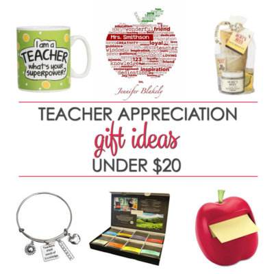 Teacher Gifts Ideas Under $20