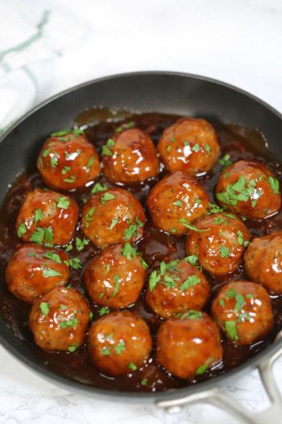 BBQ Bacon Meatballs