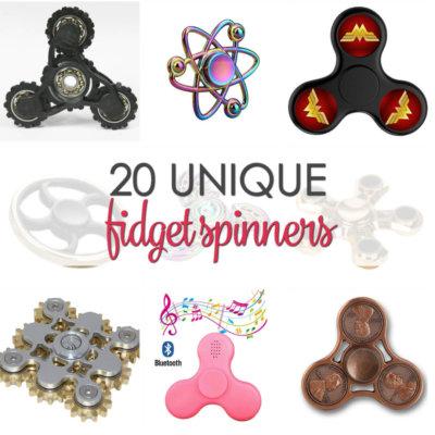 20 Unique Fidget Spinners