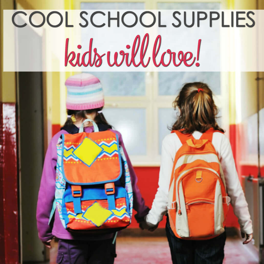 Cute back to school supplies kids will love - take care of the back to school supplies list for all of your kids with this great collection