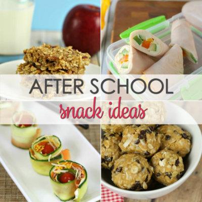 20 Healthy Back to School Snacks
