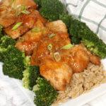 Pressure Cooker Honey Garlic Chicken
