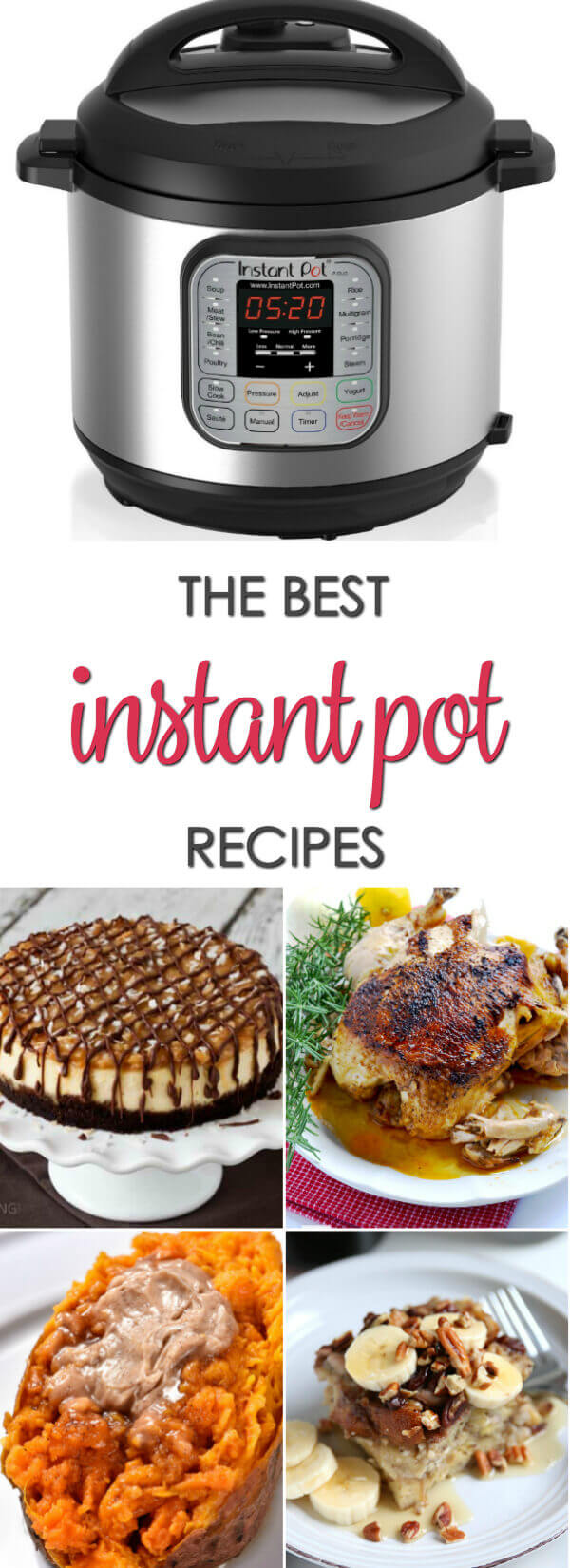 The BEST Instant Pot Recipes - all of the best Insta Pot recipes and pressure cooker recipes you will need