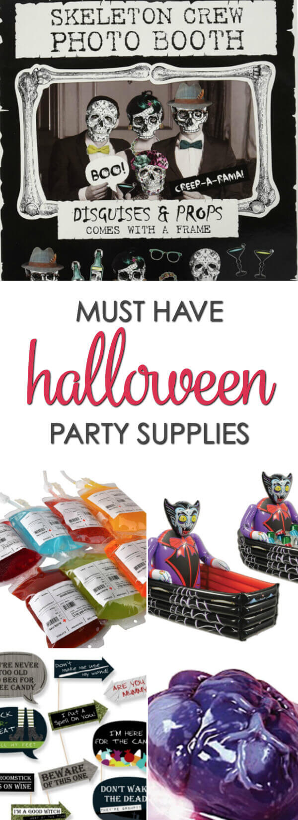 Must Have Halloween Party Supplies - everything you need to throw the best Halloween party