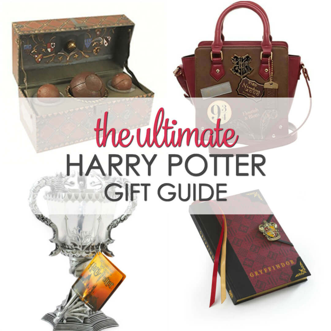 If you know someone that is a Harry Potter super fan, check out this list of cool Harry Potter gift ideas!