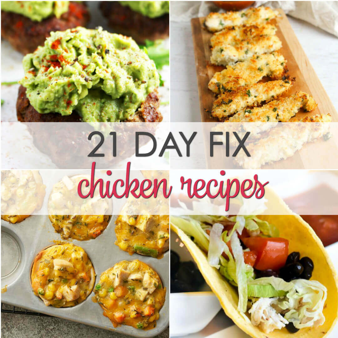 21 Day Fix Chicken Recipes