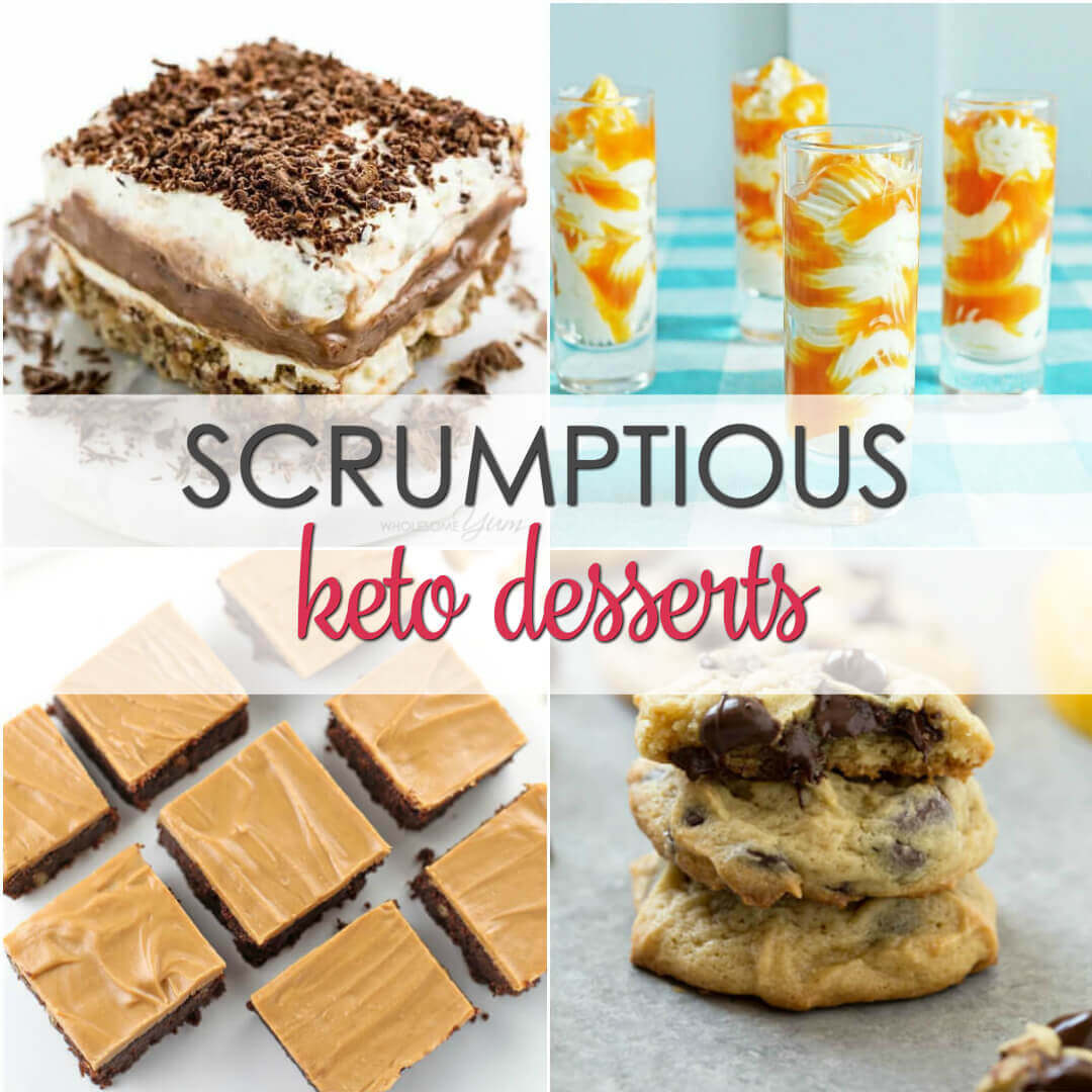 keto desserts easy