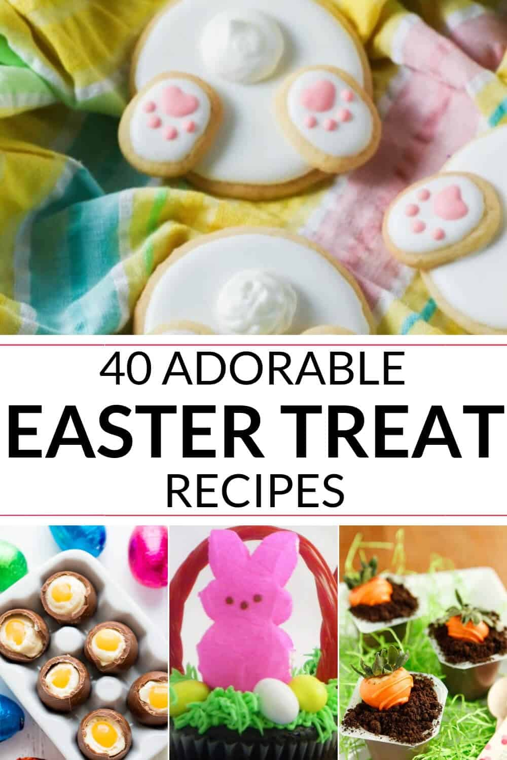 Collection of Easter treats you can make at home