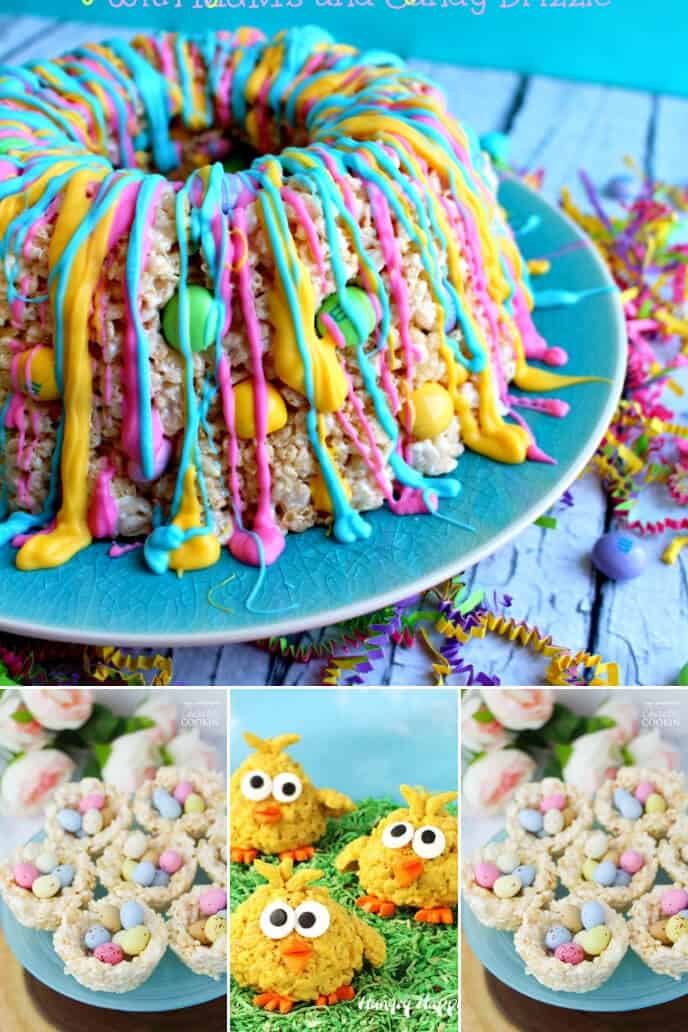 A collection of rice krispie dessert recipes